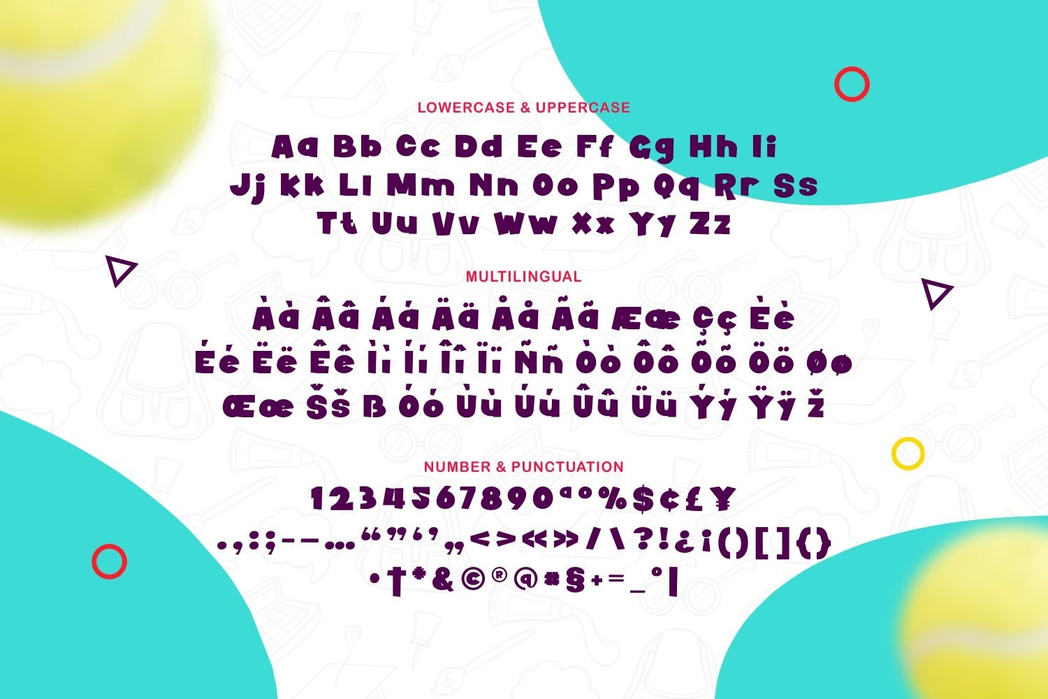 Howell - Bold Playful Font example image 2