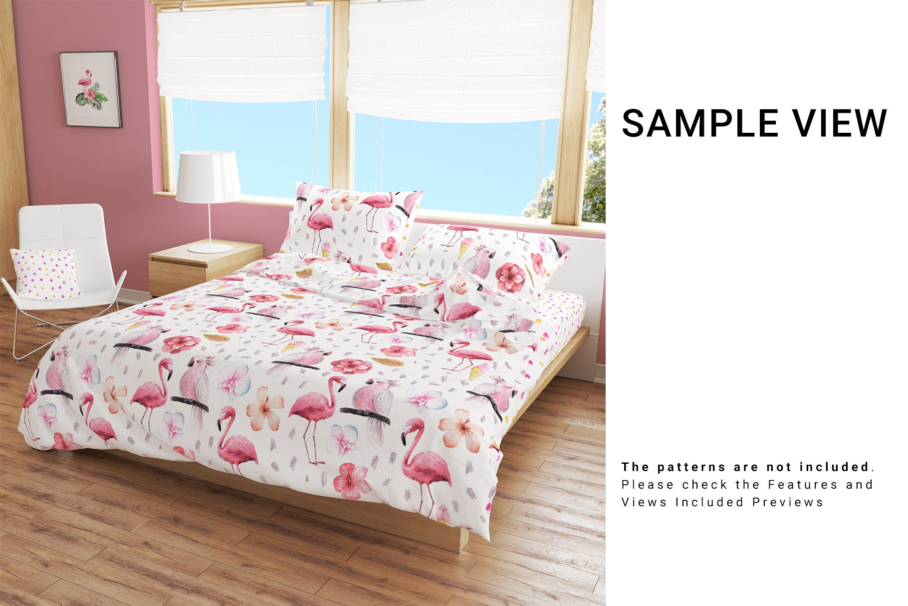 Bedroom Set - Bedding & Throw Pillow example image 4