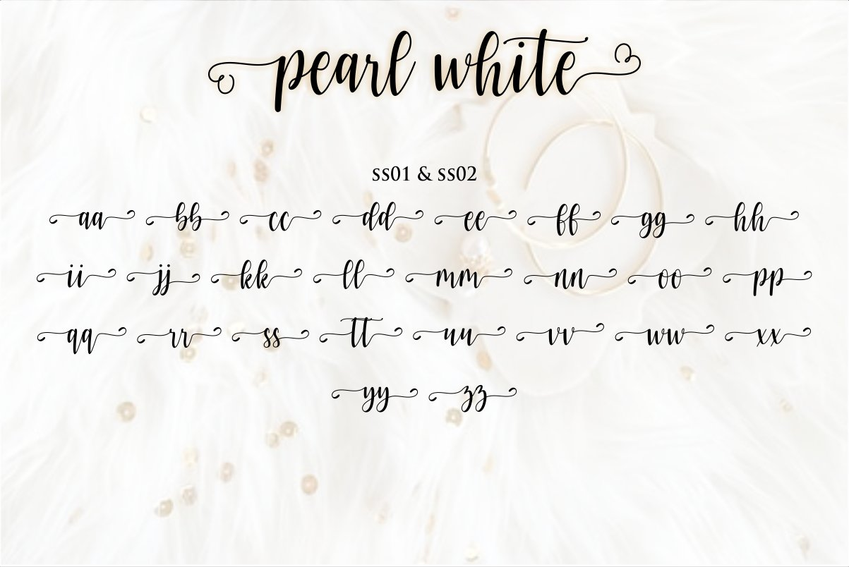 pearl white example image 14