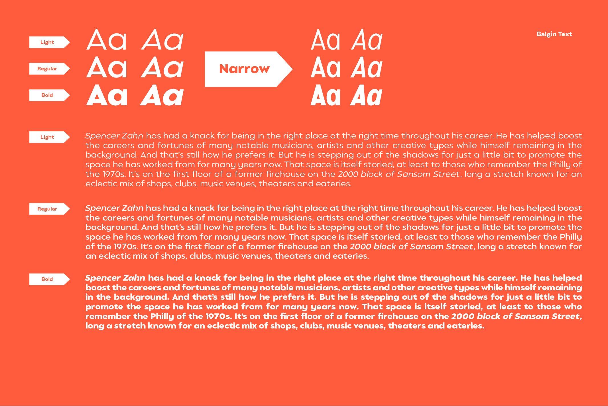 Balgin Font Family example image 10