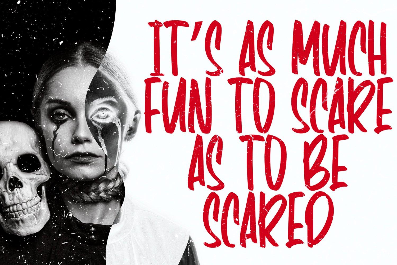 Panic Anthem - Hallowen Fonts example image 6
