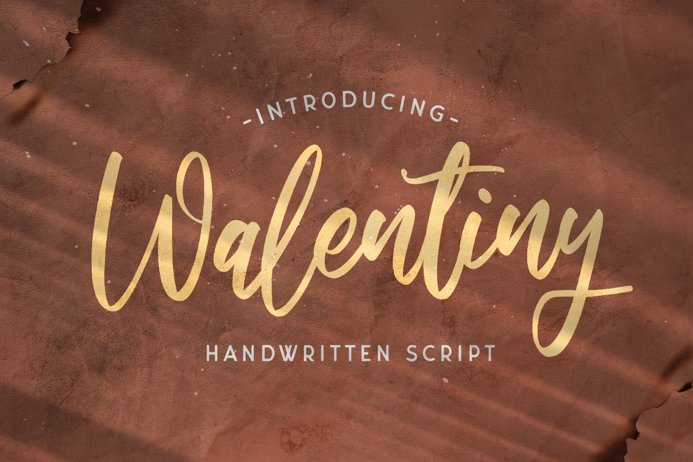 Walentiny - Handwritten Font example image 1