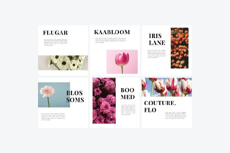 Flowers Instagram Template & Instagram Stories example image 6