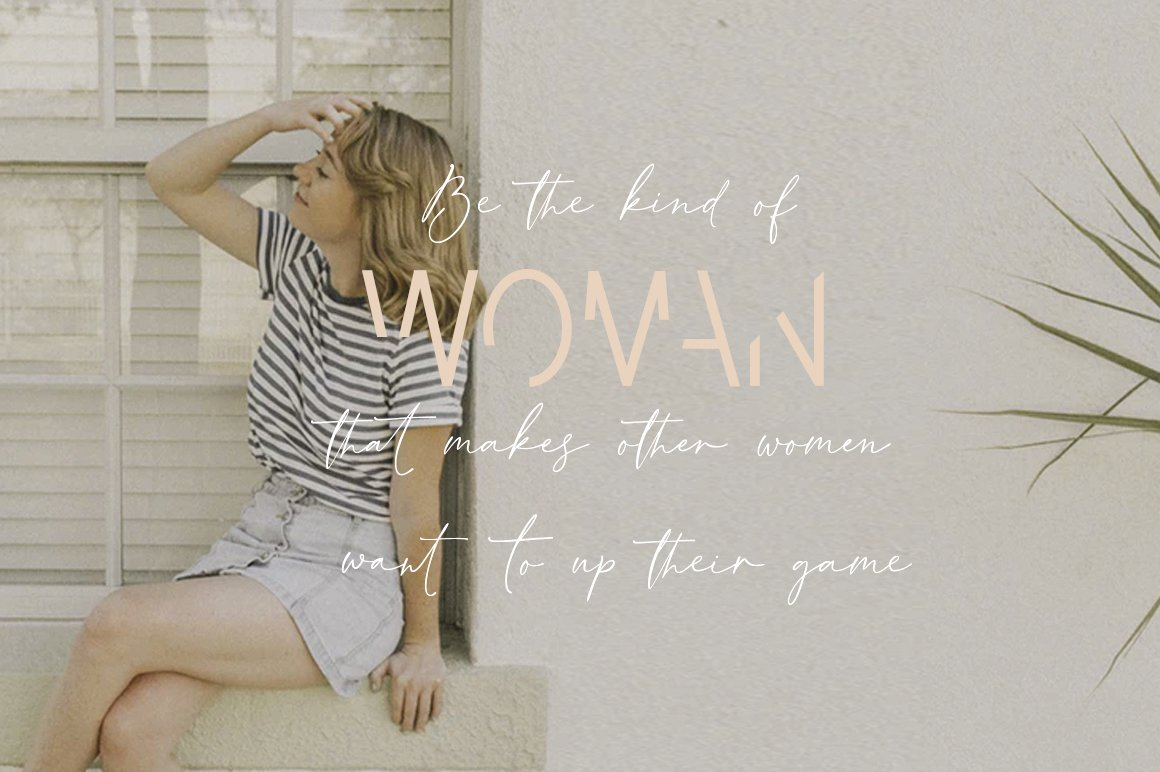 Invisible Beauty. Chic Duo Font. example image 15