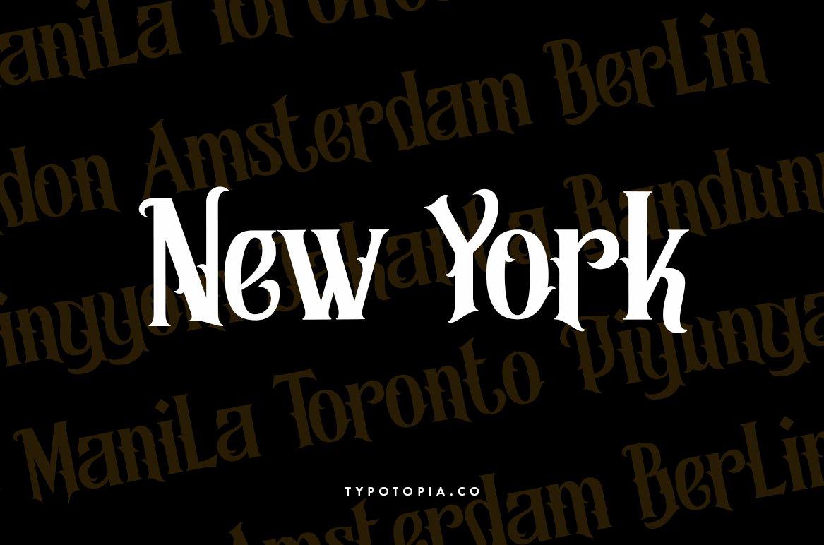 Morgana - Display Font example image 3