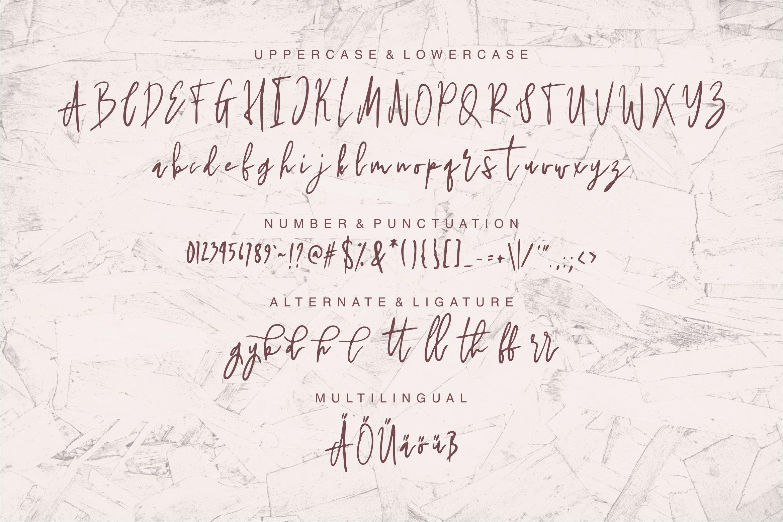 Huntiya - A Stylish Handwritten Font example image 6