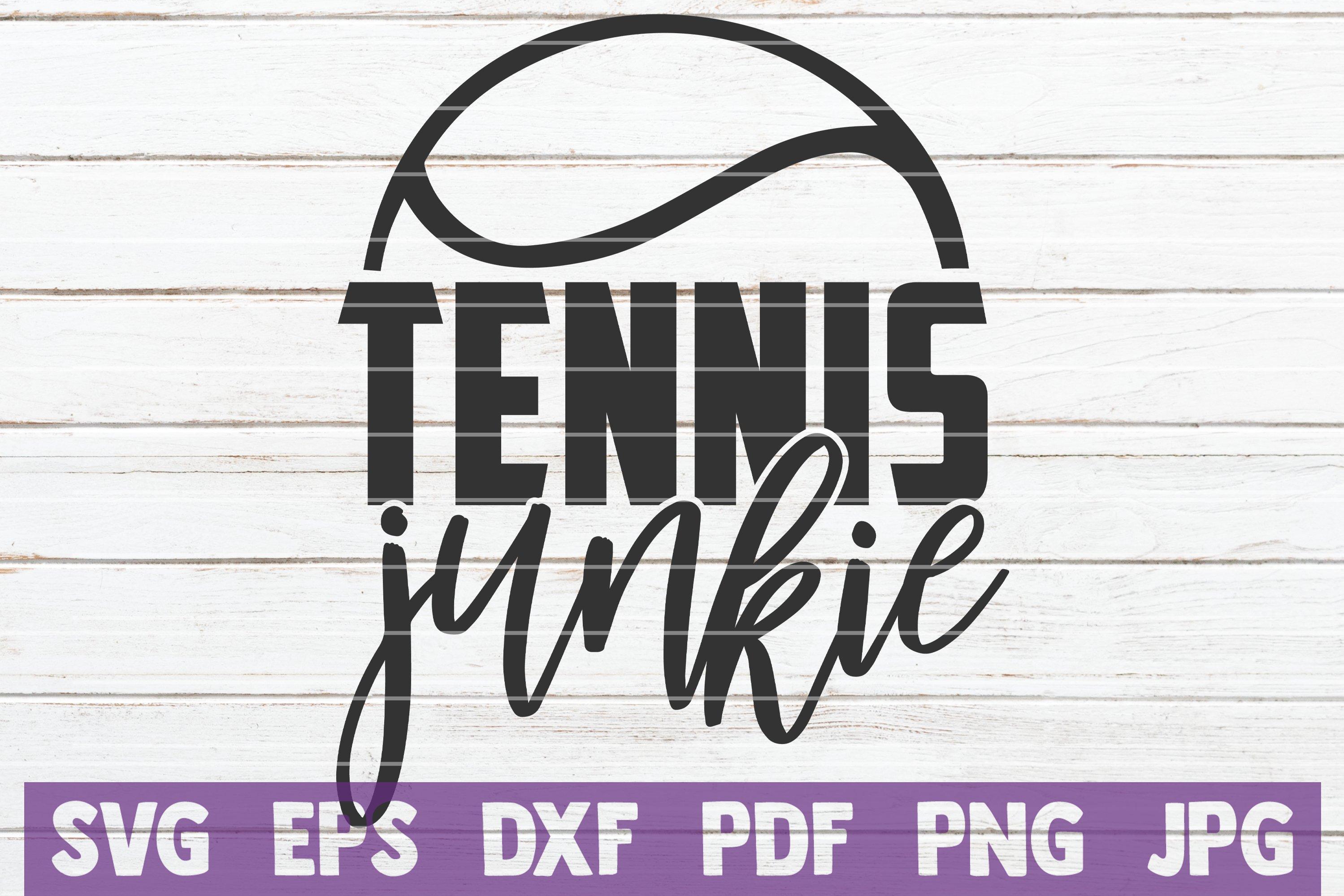 Tennis SVG Bundle | Tennis Mom SVG Cut Files example image 22
