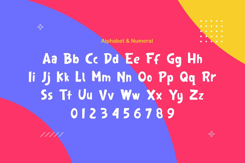 Kingfish - Playful Typeface example image 4
