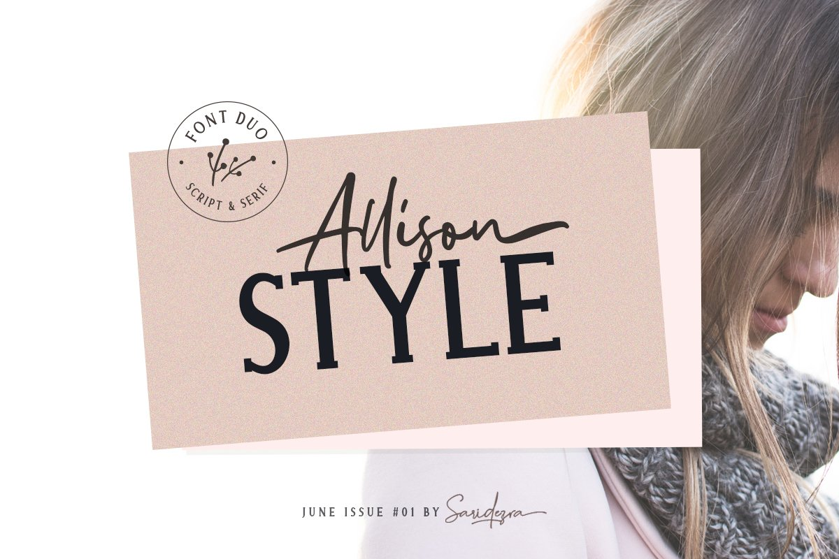 Allison Style - Font Duo example image 9
