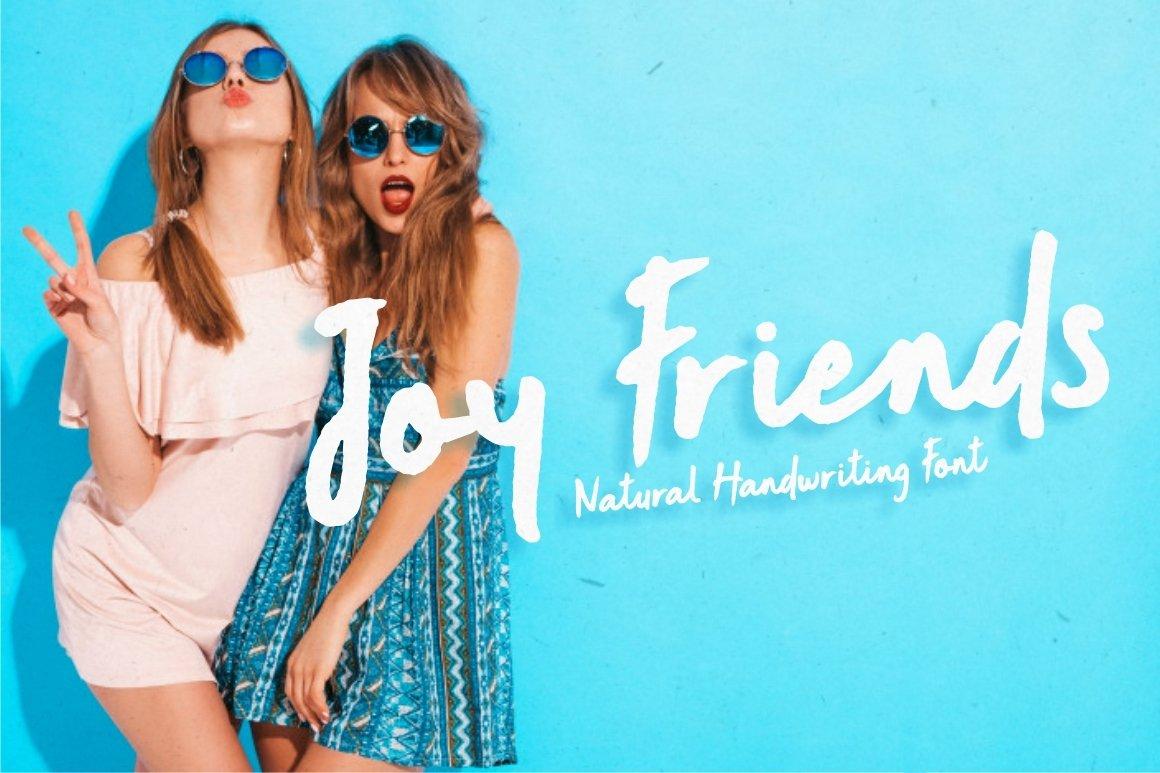 Joy Friends - Bold Marker Font example image 1