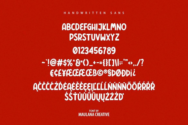 Polers - Sans Serif Font example image 10