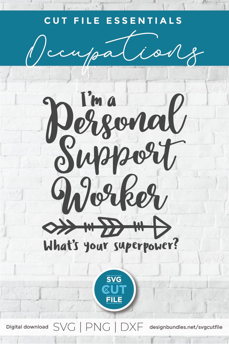 PSW superpower svg-a Personal support worker svg example image 4