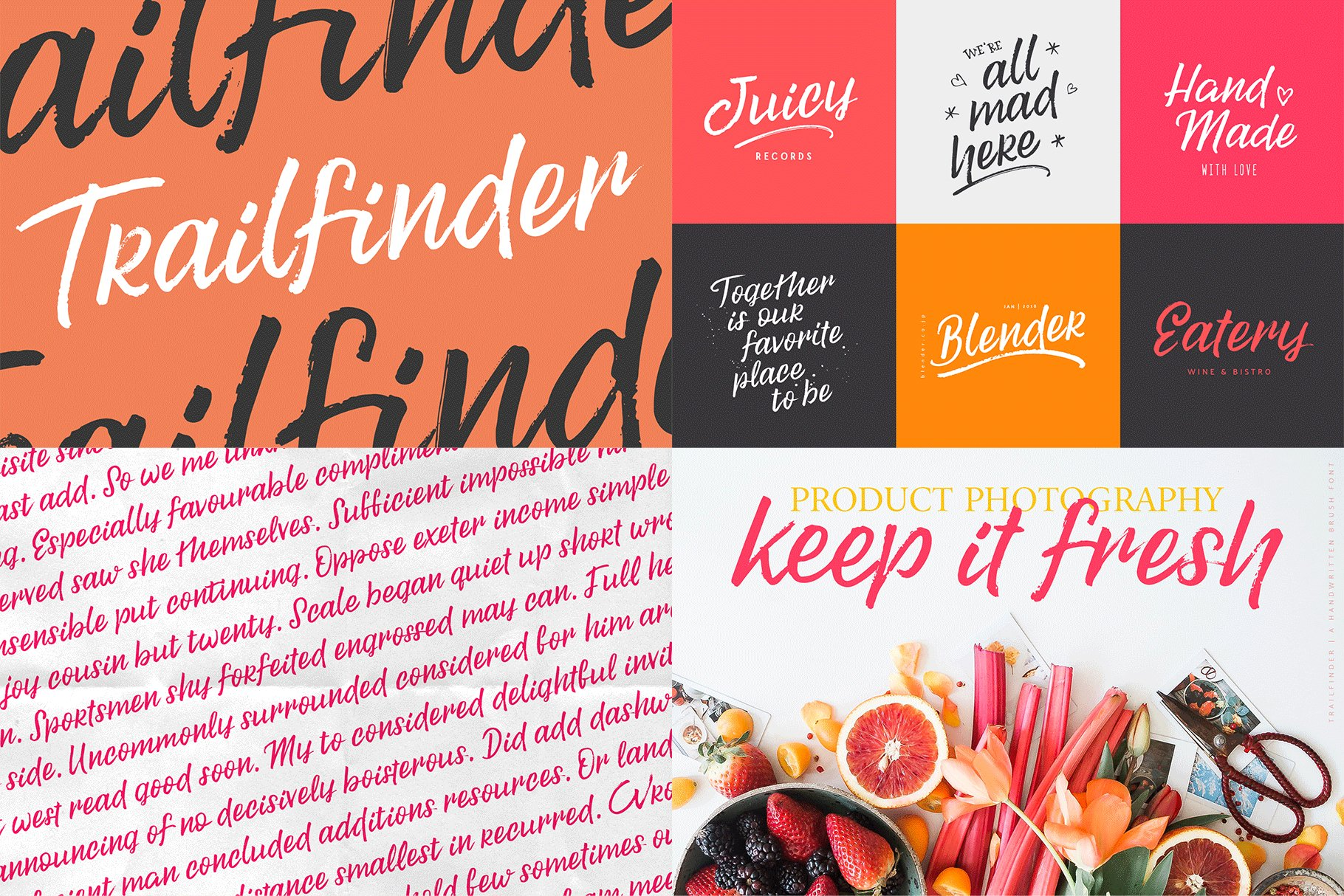 The Hand Lettered Font Bundle example image 18
