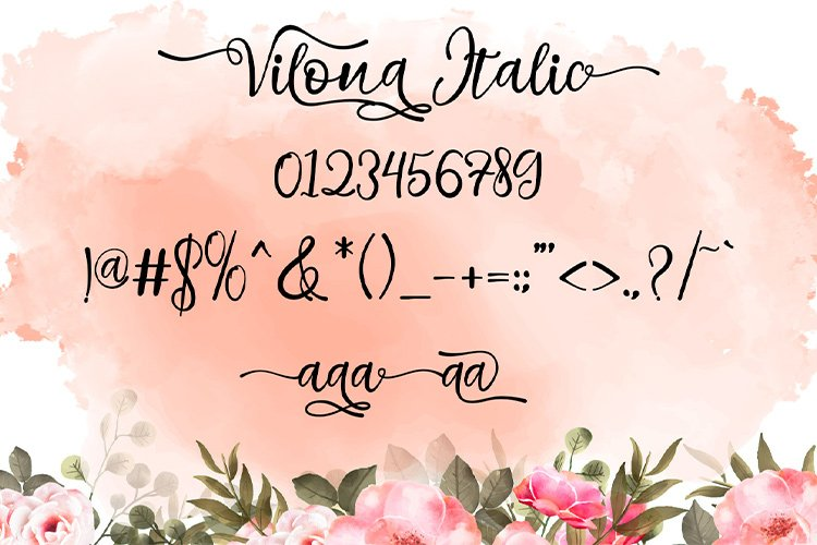 Vilona |Three Typeface example image 2