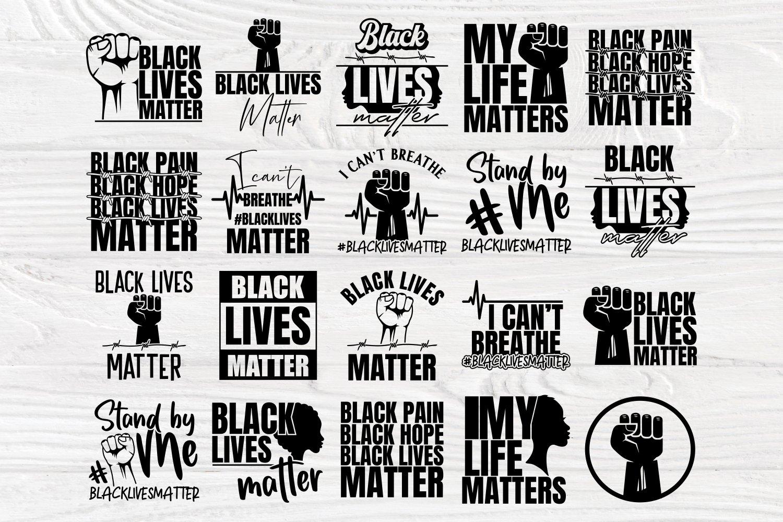 Black Lives Matter SVG Bundle, Juneteenth Svg, Black History example image 3