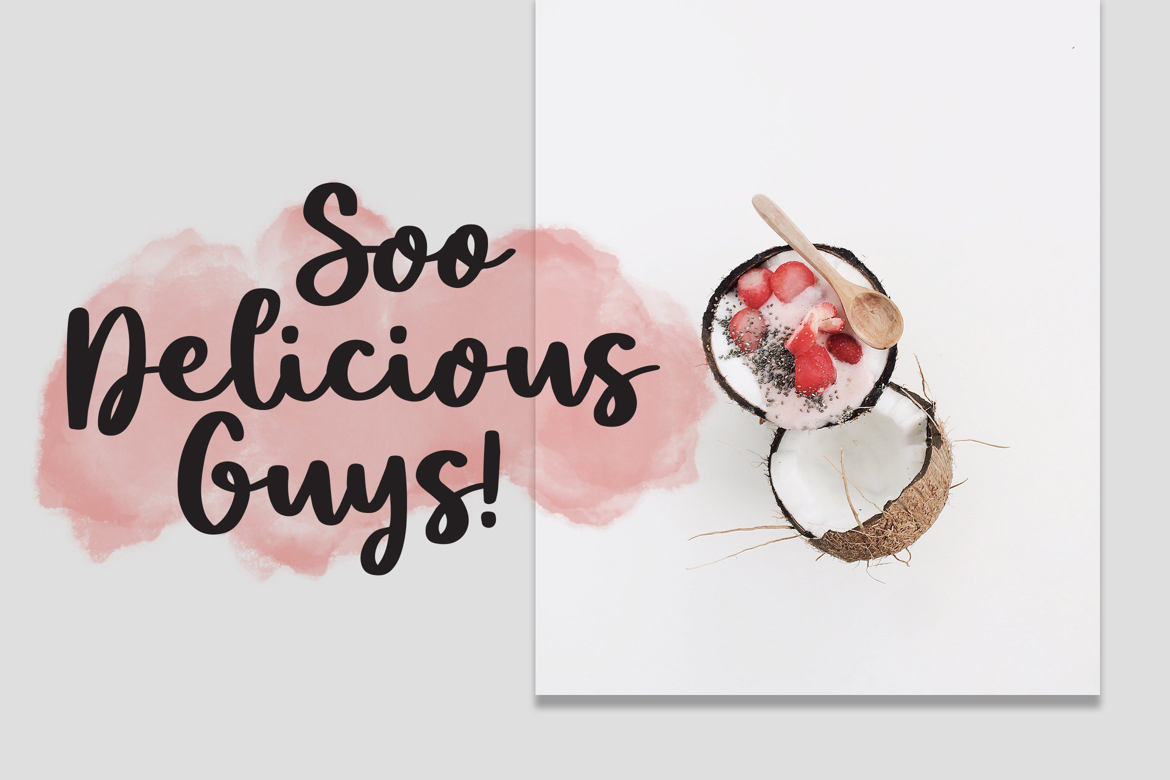 Smoothies - Smooth Font example image 3