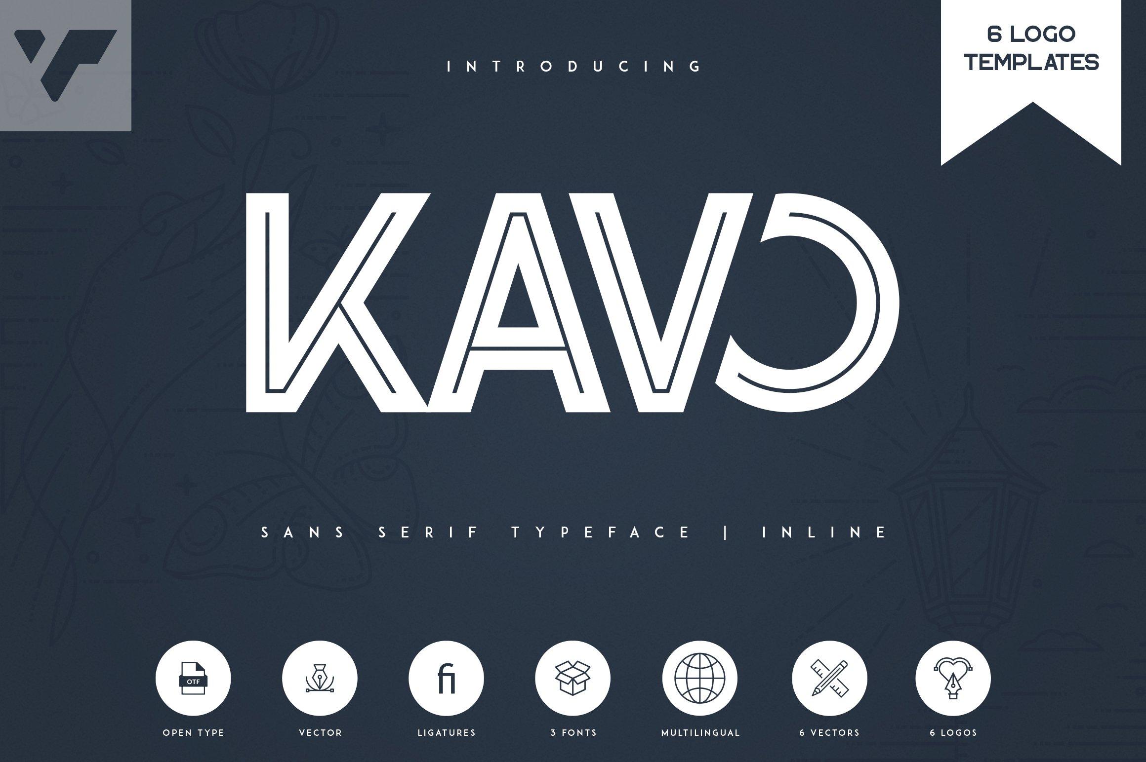 Kavo Inline 6 Logo Templates example image 1