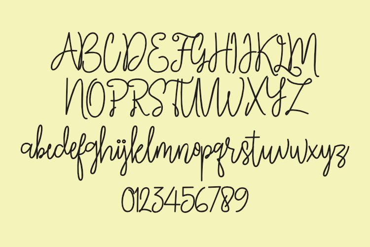 Quillines - Hairline Font - Single Line Font example image 5