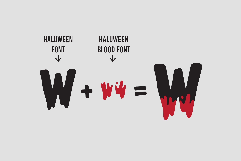 Haluween Fonts example image 7