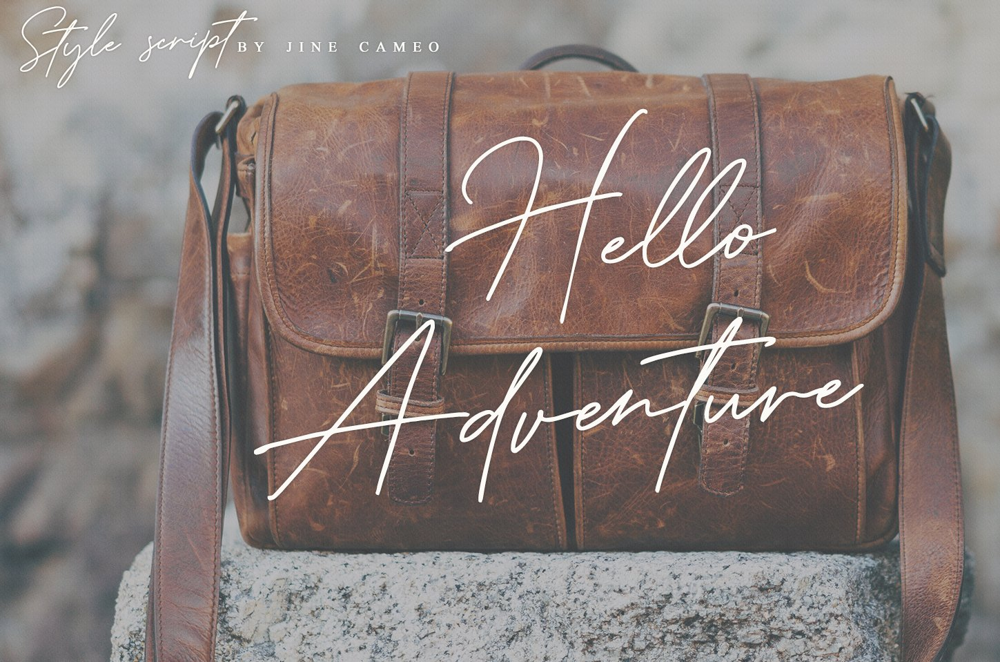 Style Script - Casual Font example image 7