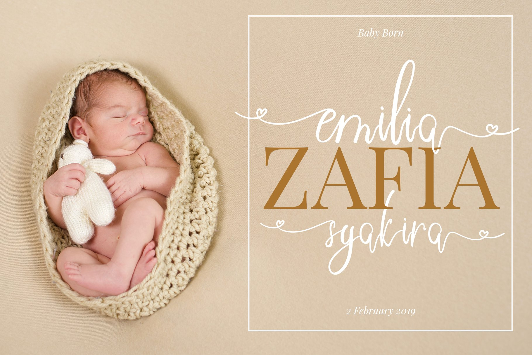 Sweetheart Lovely Calligraphy Font example image 9