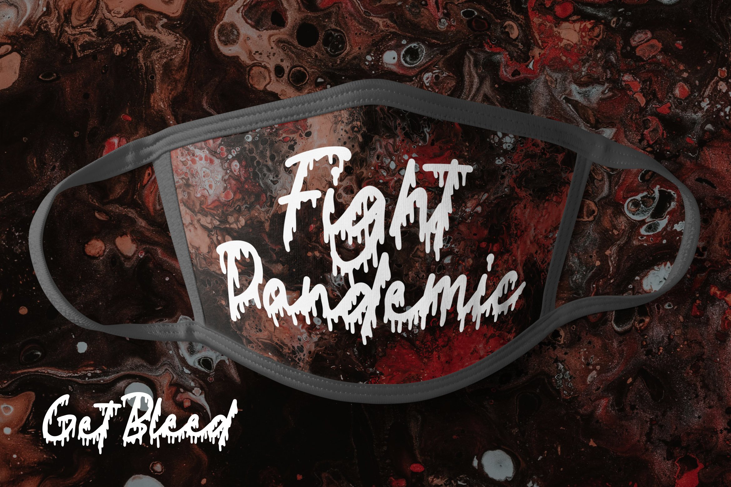 Get Bleed - Horror Fonts example image 4