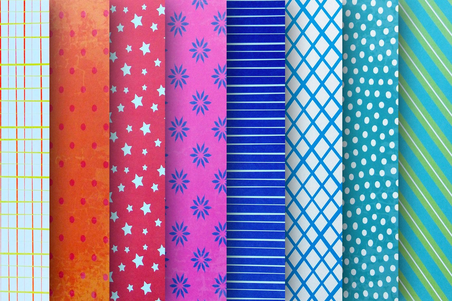 Pattern Design Digital Papers - Vol 2 example image 2