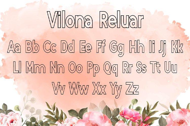 Vilona |Three Typeface example image 9