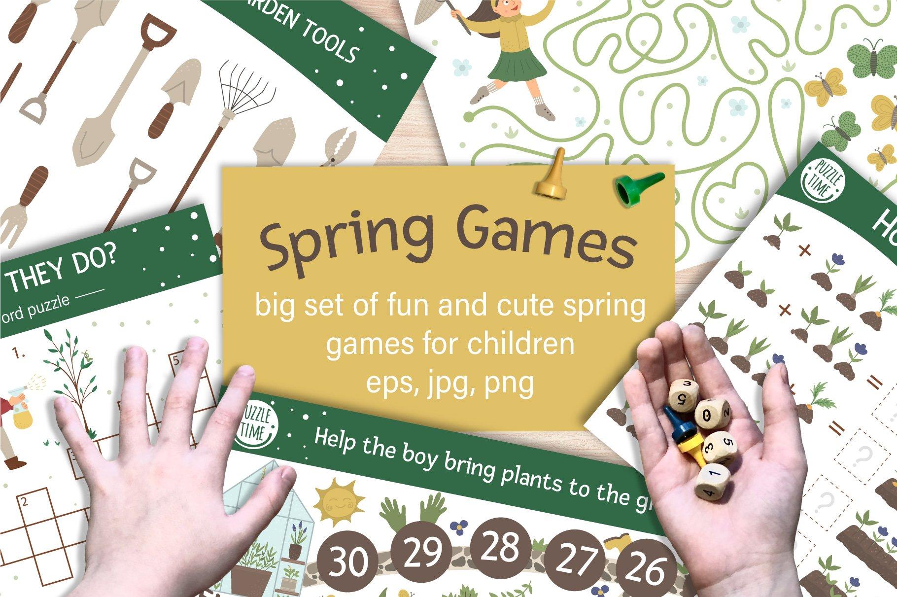 Download Spring Games 472090 Educational Design Bundles