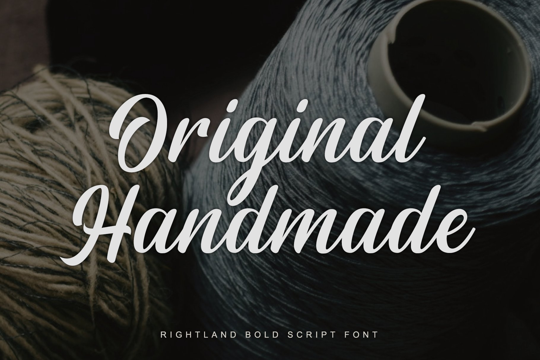 Rightland - Modern Bold Script example image 2