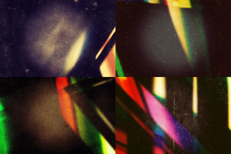 Grunge Light Leaks - Creative Vintage Overlays example image 4