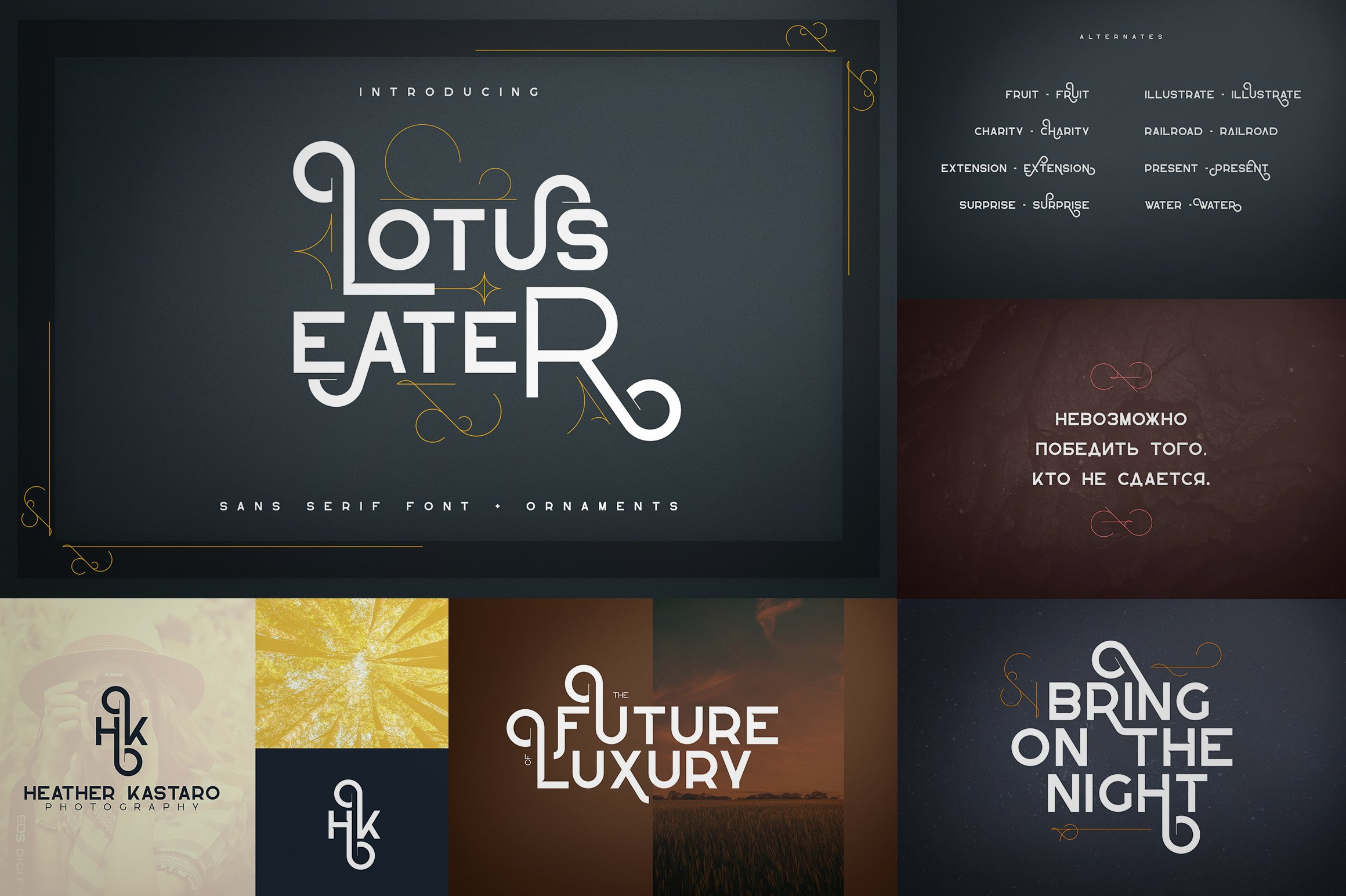 Bestseller Font Collection Vol.02 example image 3