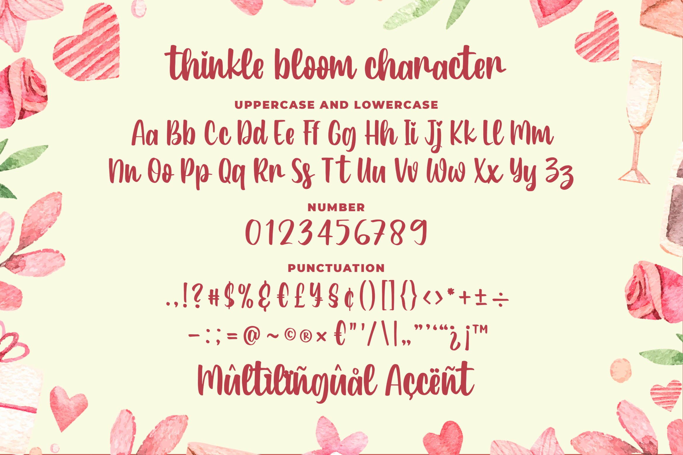 Thinkle Bloom - a Quirky Font example image 6