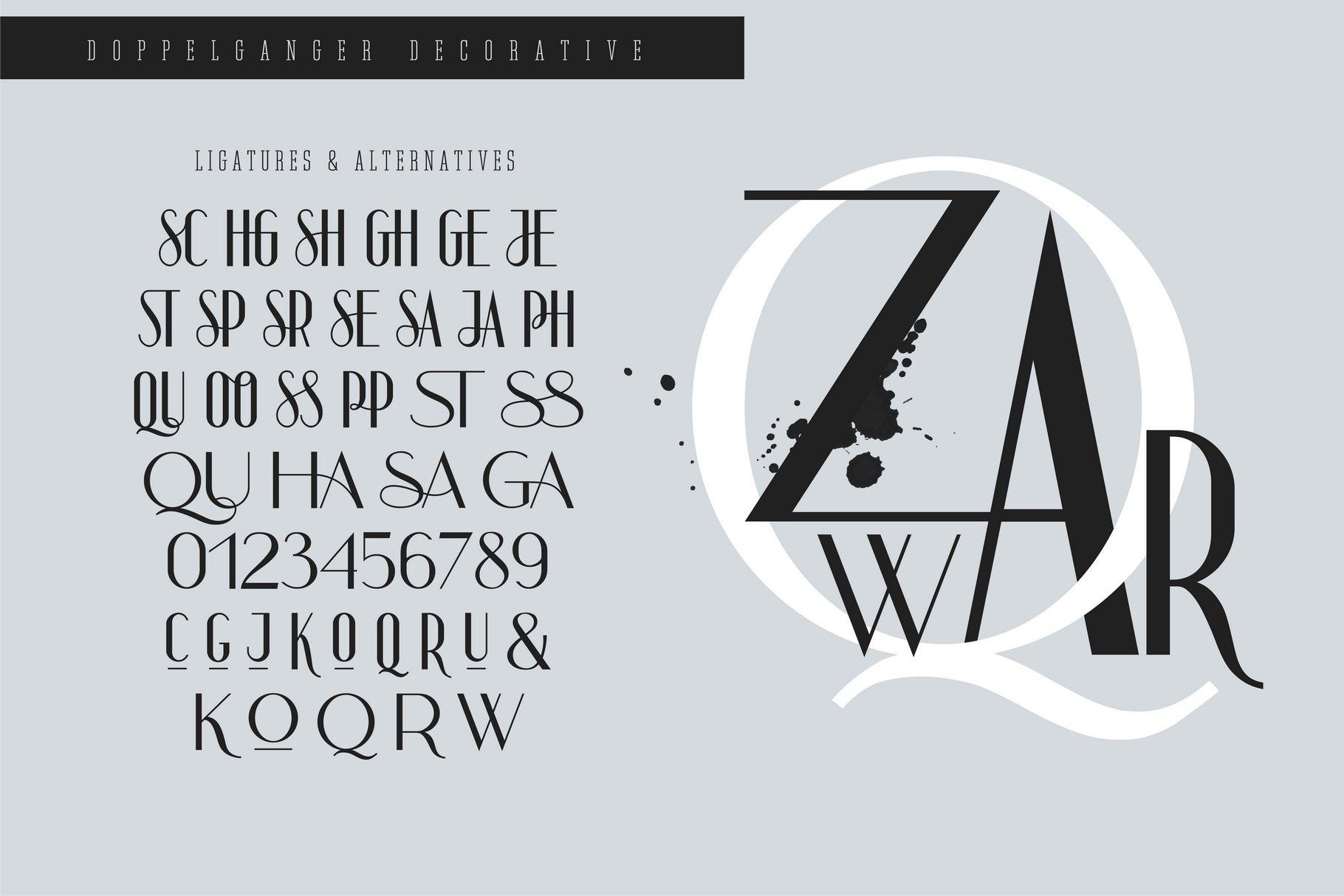 Doppelganger - Modern Sans Serif example image 5