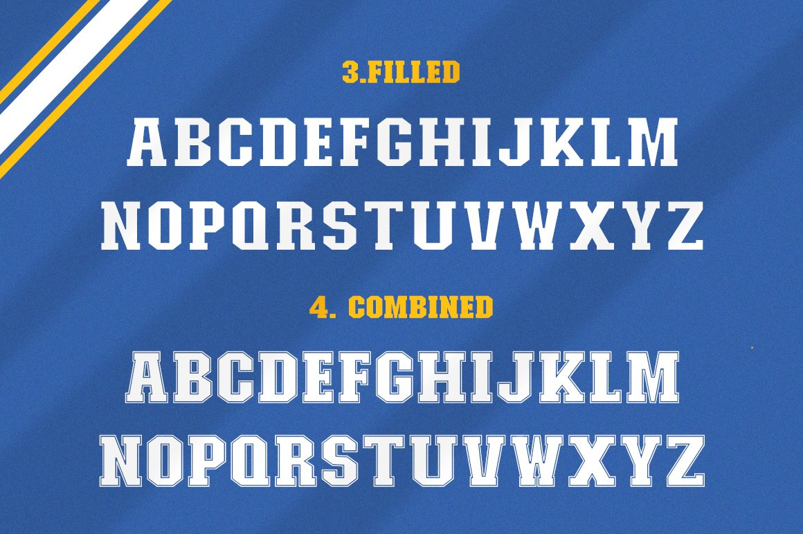 College Font Family example image 7