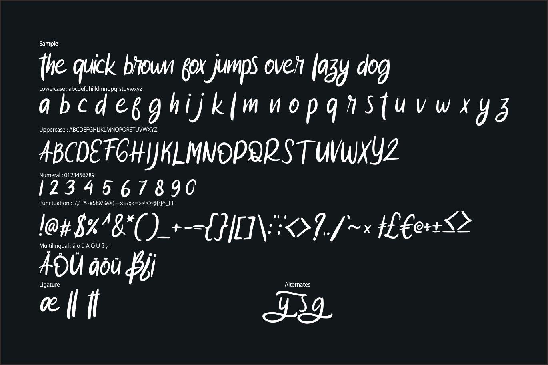 Hagos | Modern Typeface Script example image 6