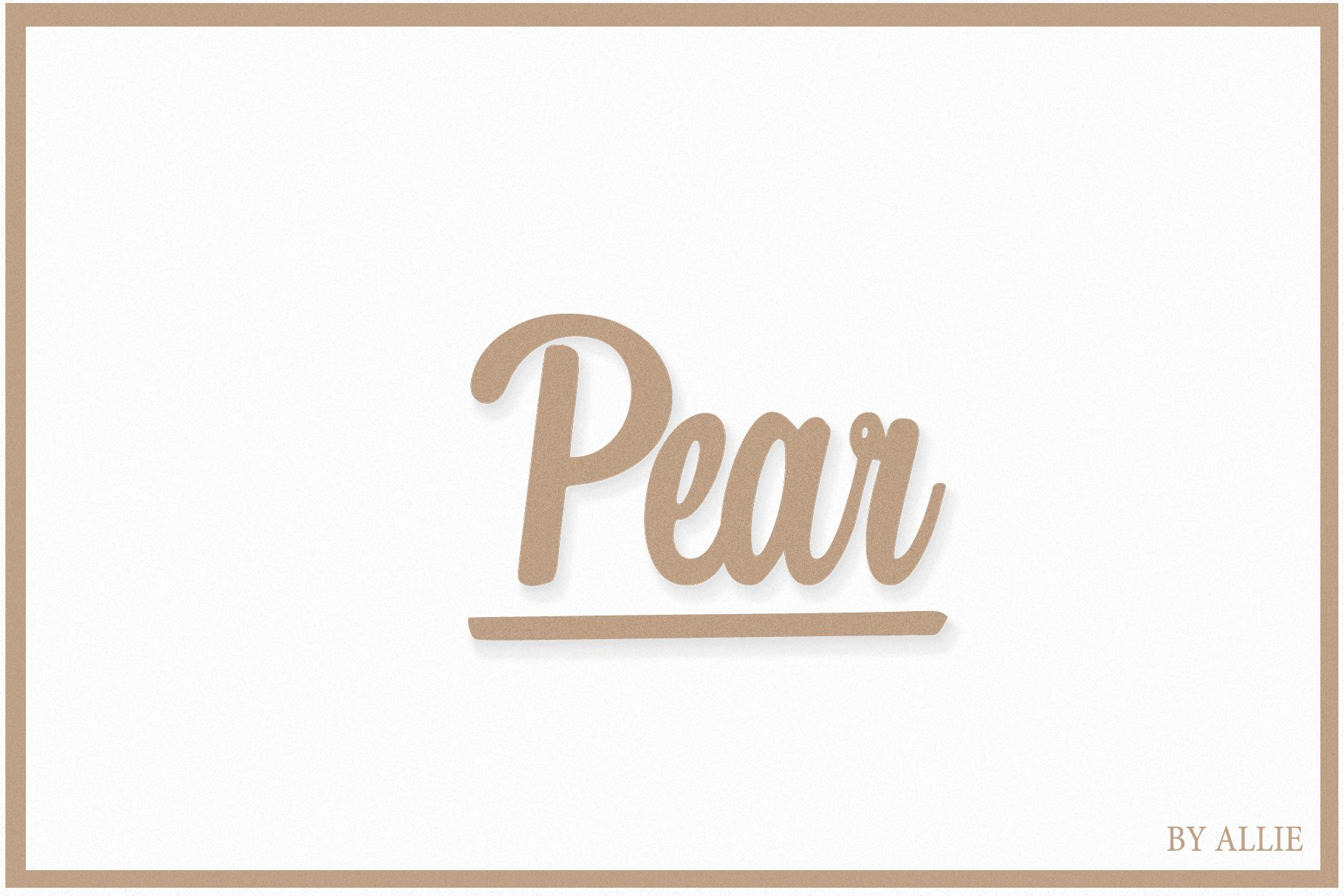 Pear example image 1