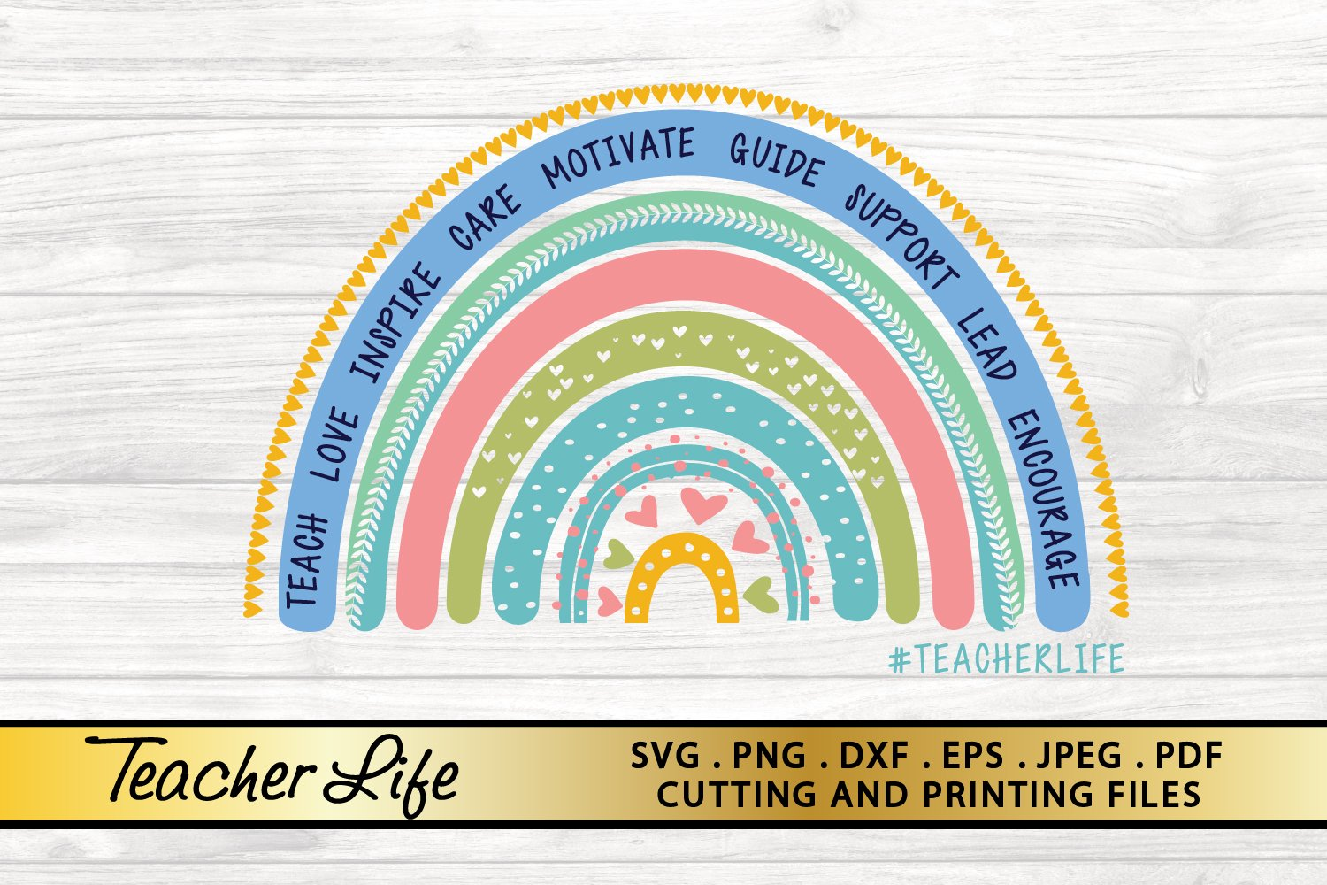 Teacher Svg Png Eps Dxf Files For Cutting And Printing 803994 Illustrations Design Bundles