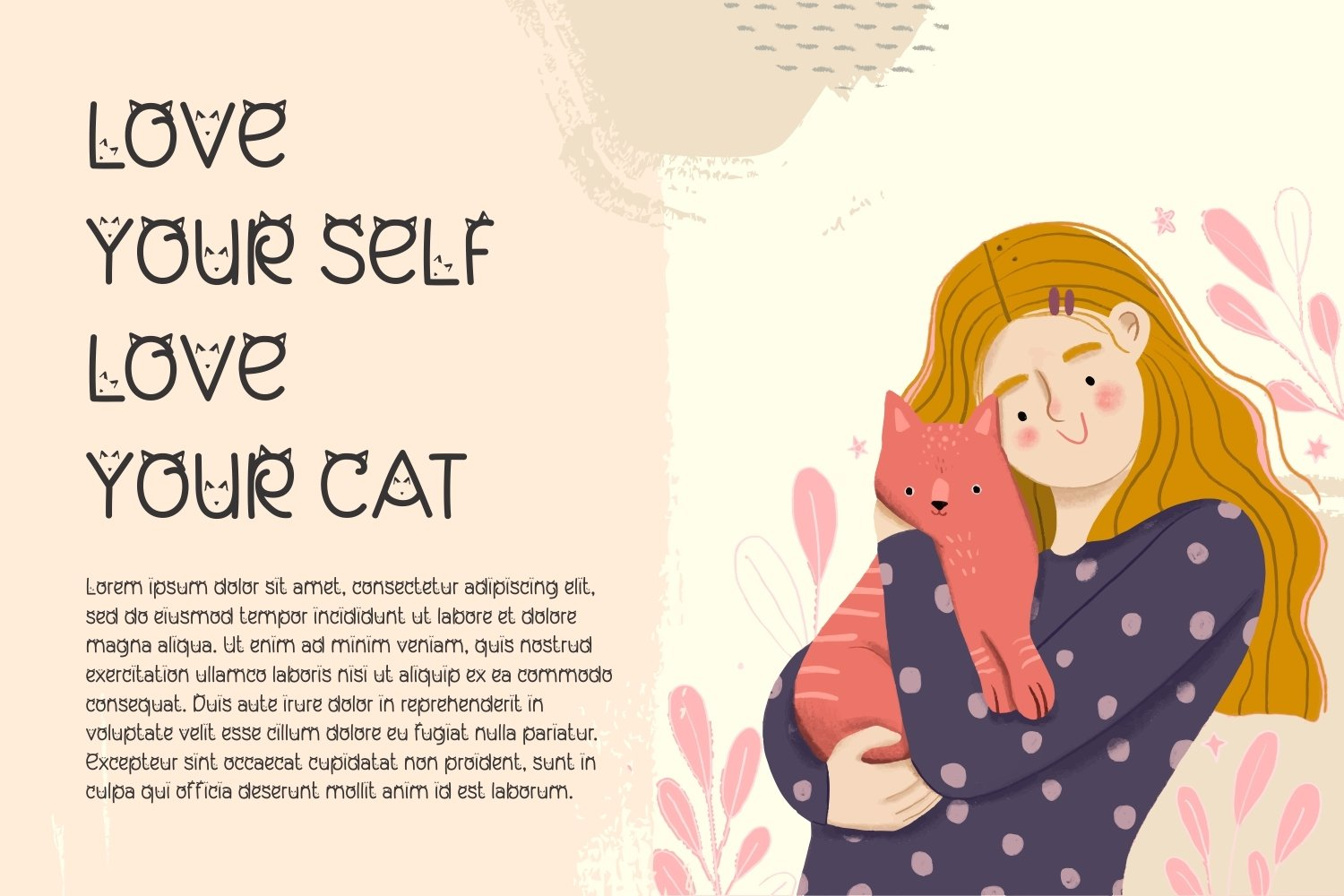 My Lovely Kitten - Cat Display Font example image 4