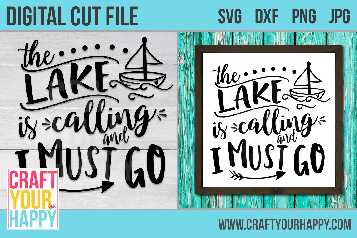 The Lake Is Calling And I Must Go A Vacation Svg Cut File 236958 Svgs Design Bundles