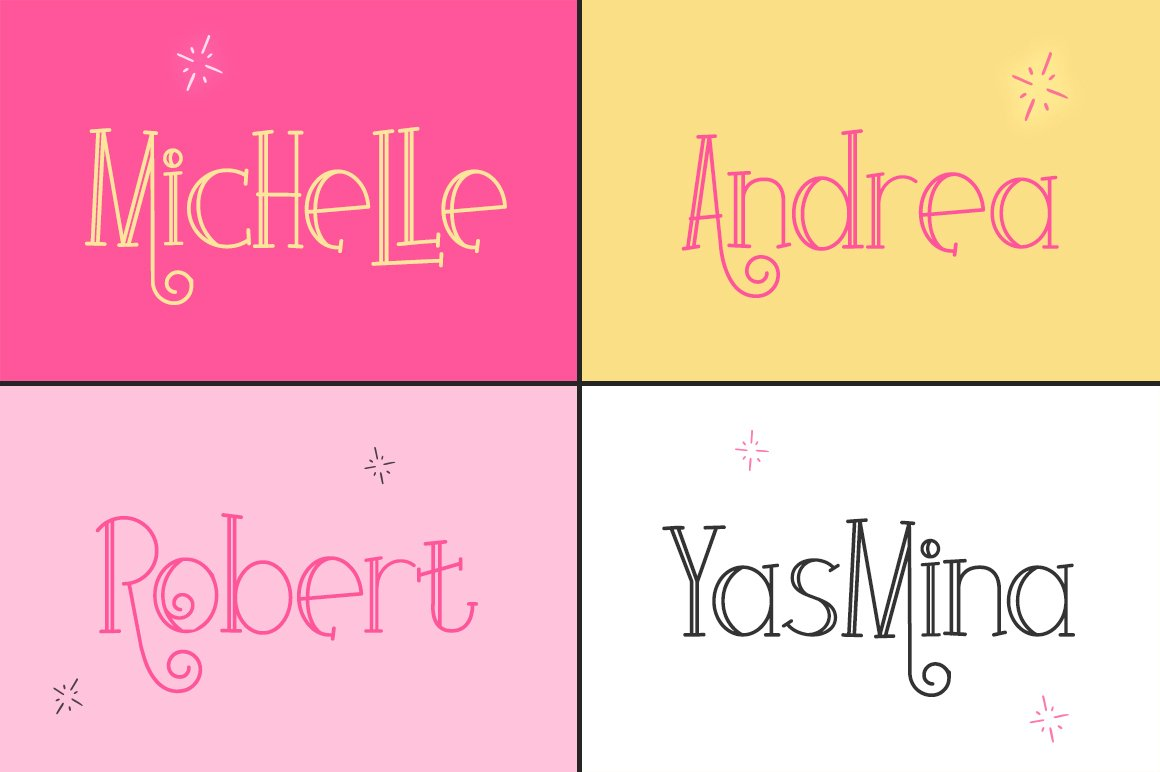Colores Font Duo example image 2