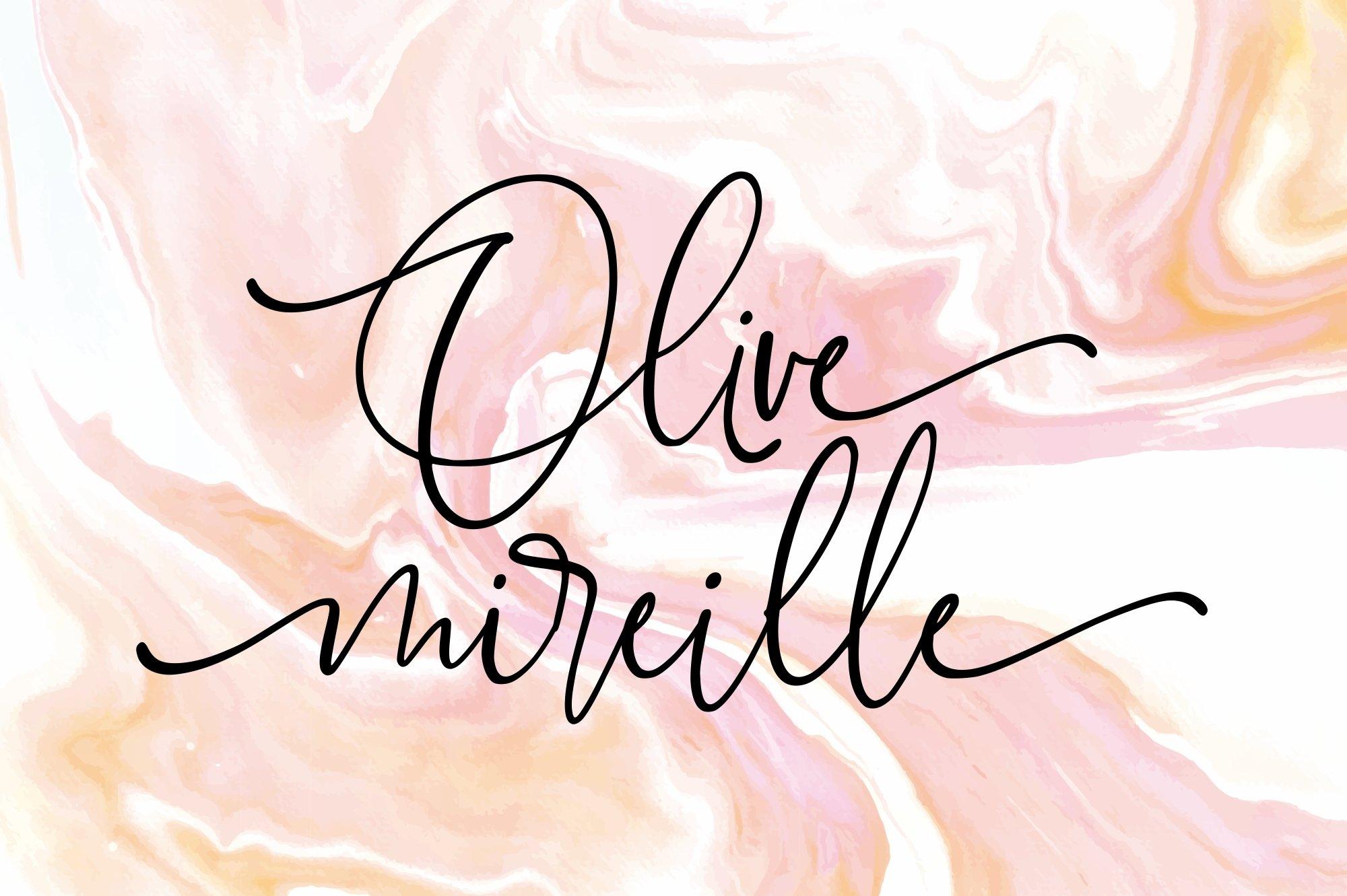 Marchellia - Modern Handwritten Font example image 7