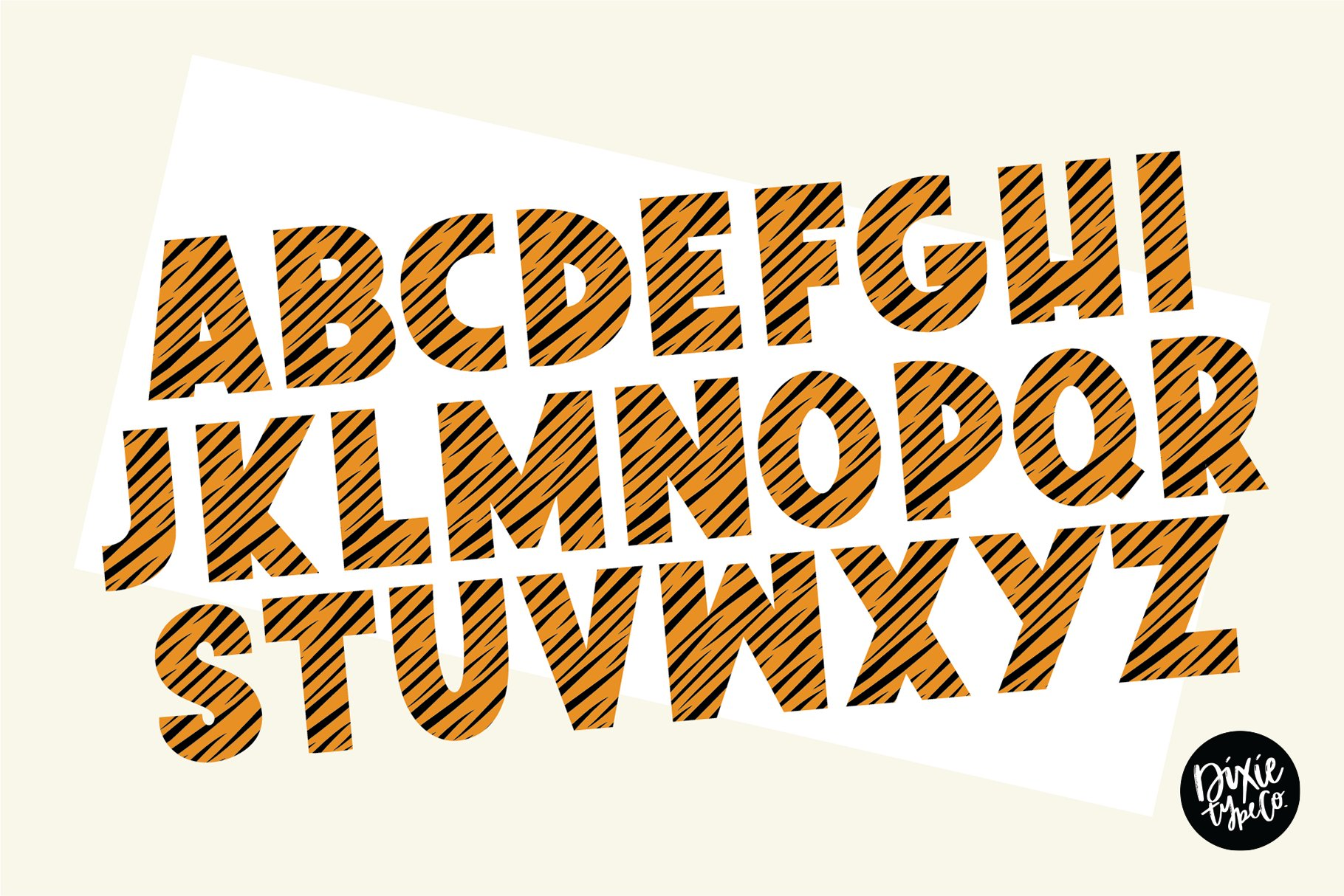 TIGER STORY Color Font Duo example image 5