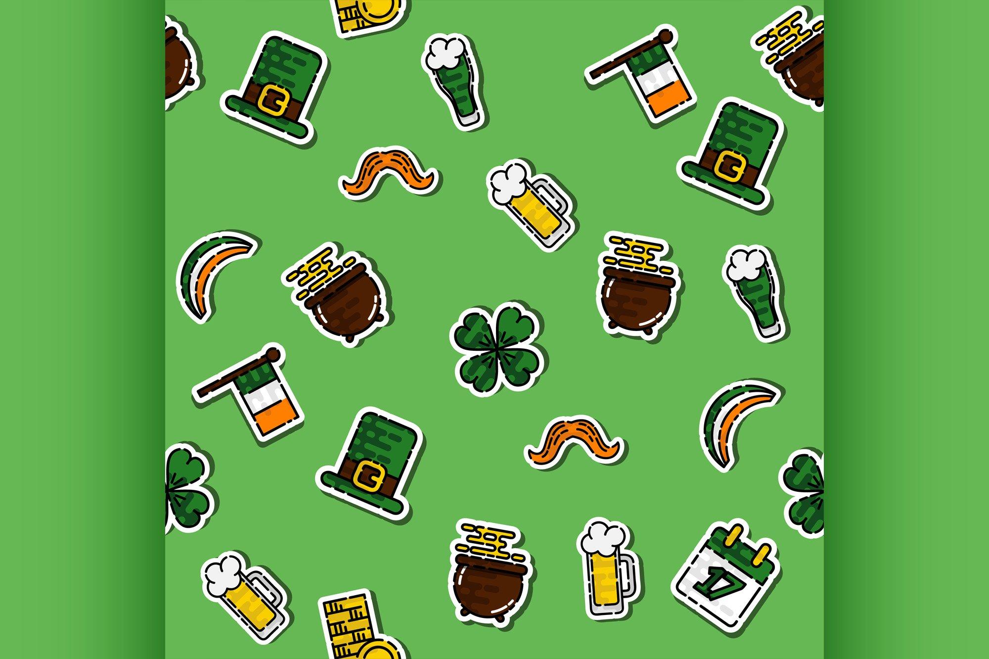 St.Patricks Day pattern example image 1