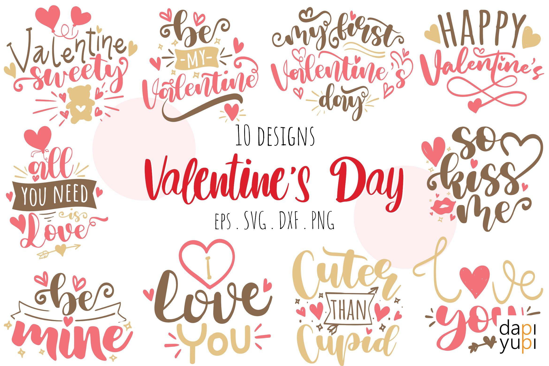 Download Valentine S Day Quotes Bundle 1134861 Cut Files Design Bundles