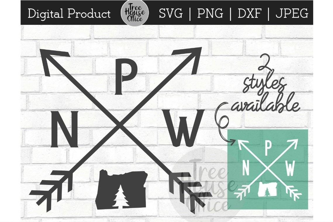 Oregon Pnw West Coast Or State Love Arrows Svg Png Dxf Jpeg 376443 Cut Files Design Bundles