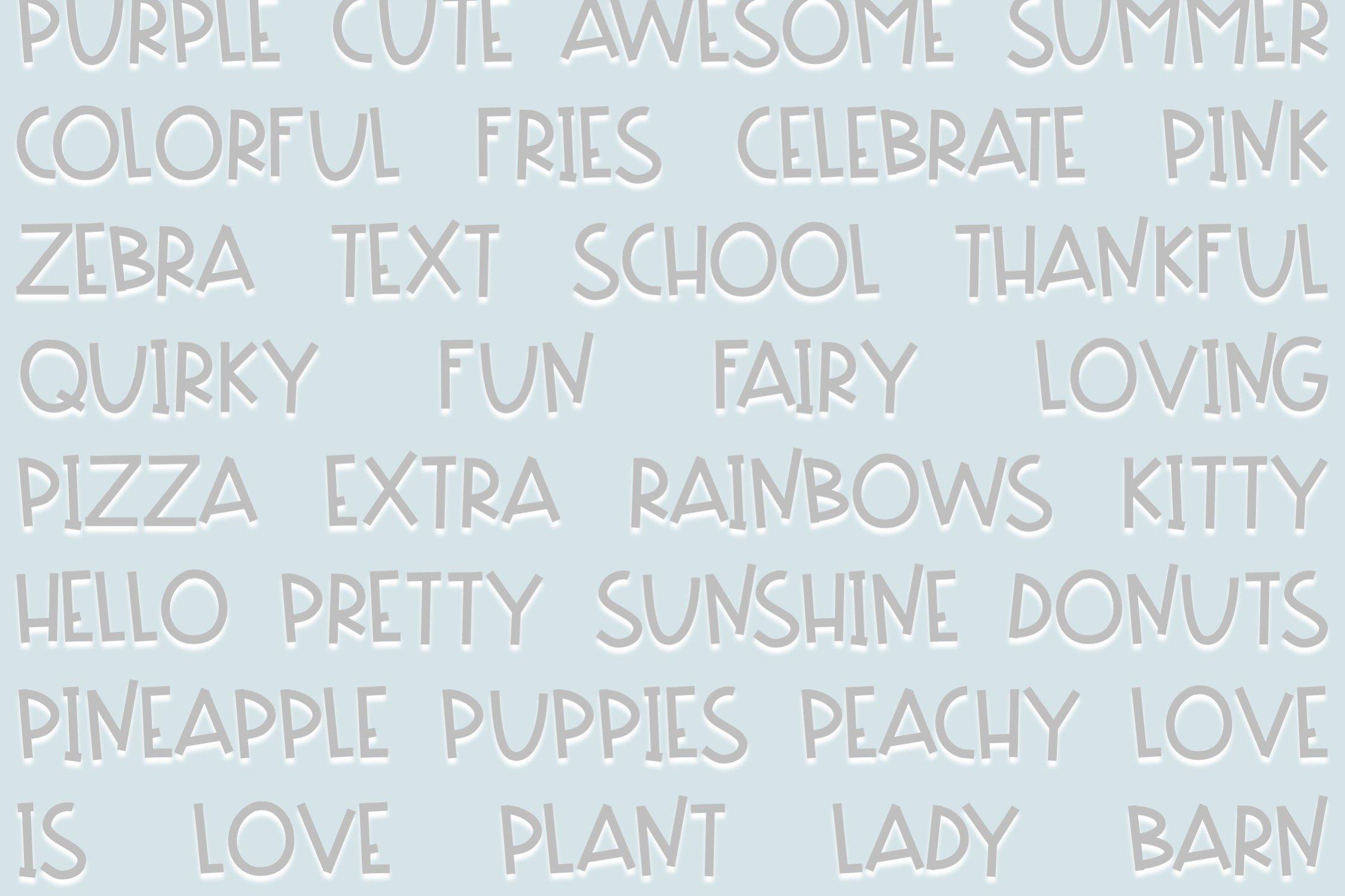 Soccer Mom | Fun Handwritten Font | Bouncy Font example image 3