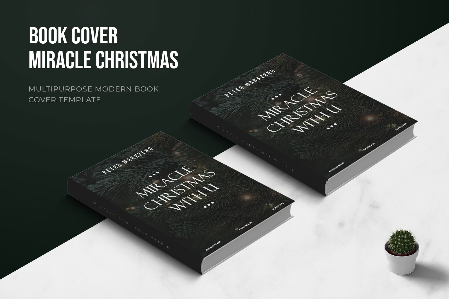 Miracles Christmas With You Book Cover example image 1
