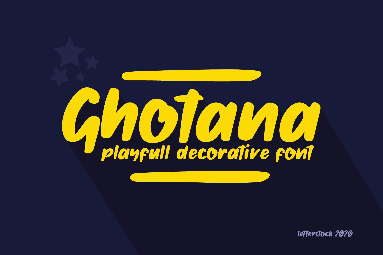 Ghotana example image 1