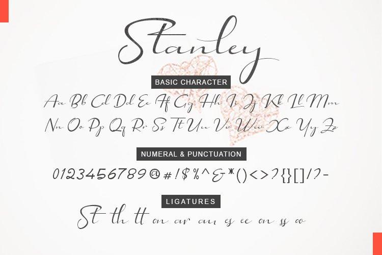 Stanley Modern Script example image 9